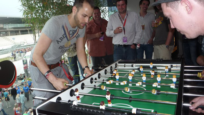 Tischfußball-Events: Hall of Fame 12